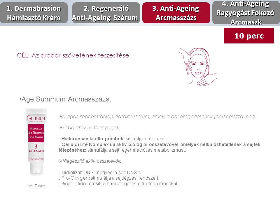 1. Dermabrasion Hámlasztó Krém 2. Regeneráló Anti-Ageing Szérum