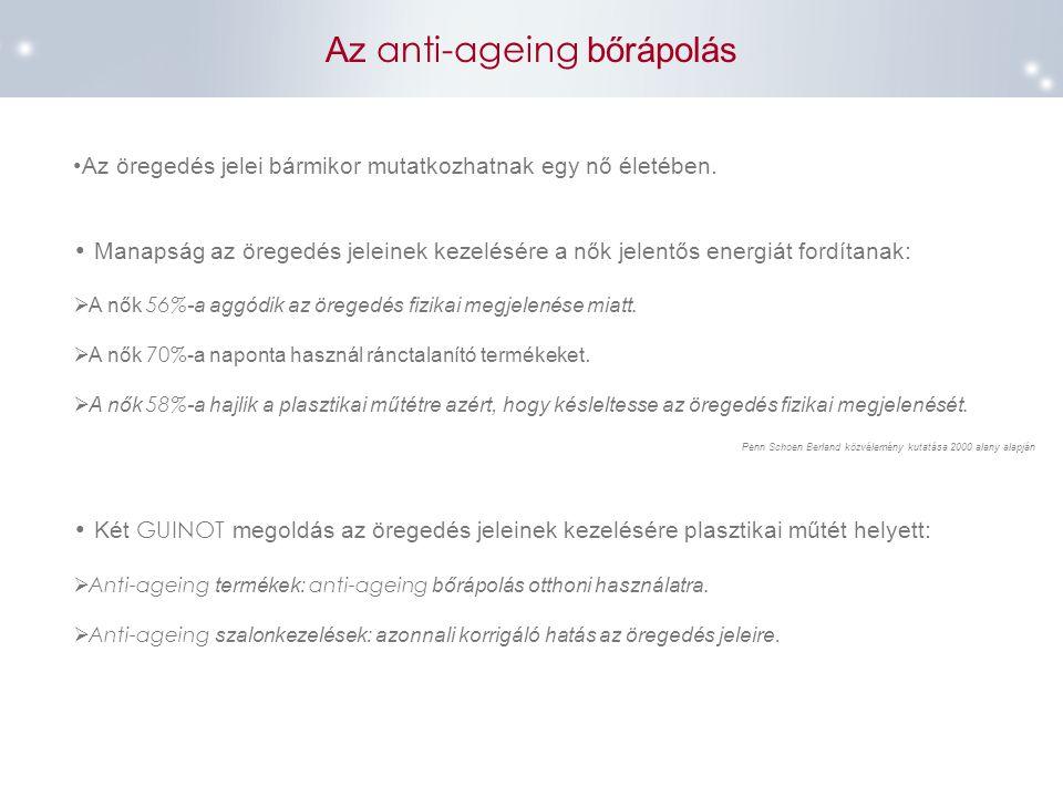 Az anti-ageing bőrápolás