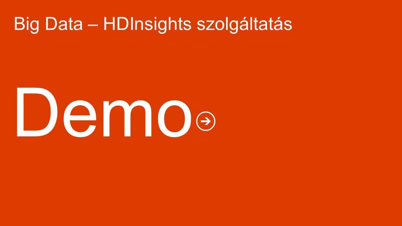 Big Data – HDInsights szolgáltatás