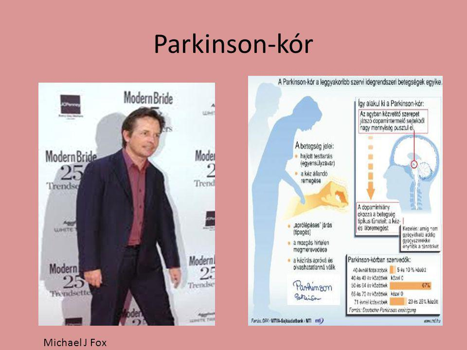 Parkinson‑kór Michael J Fox