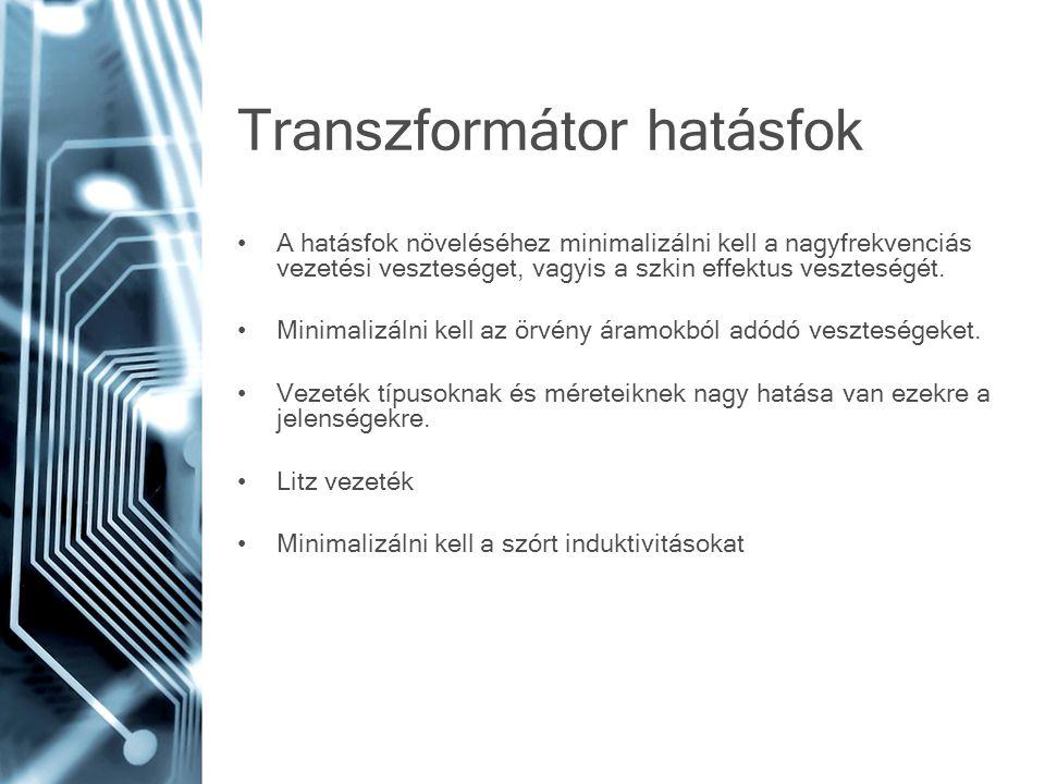 Transzformátor hatásfok