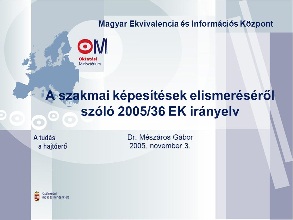 Magyar Ekvivalencia és Információs Központ