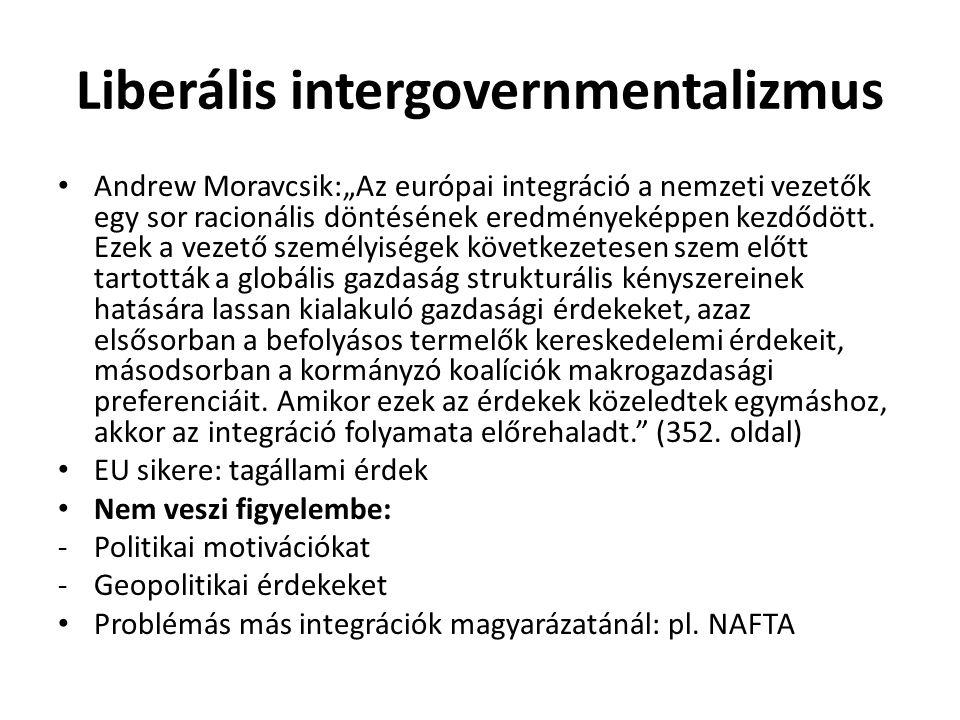 Liberális intergovernmentalizmus