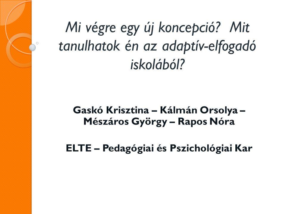 Gaskó Krisztina – Kálmán Orsolya – Mészáros György – Rapos Nóra