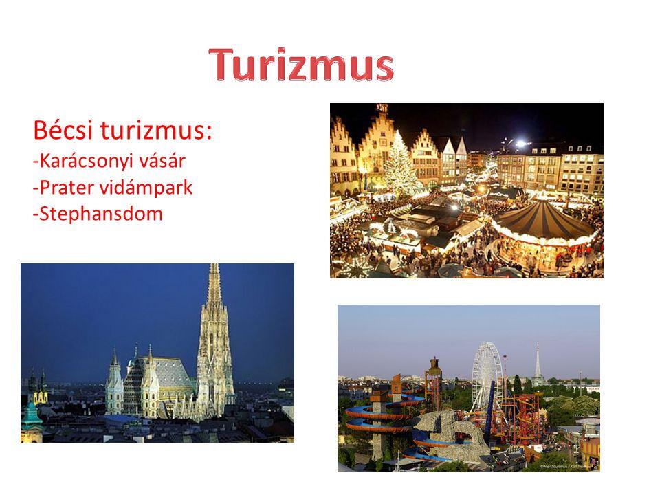 Turizmus Bécsi turizmus: -Karácsonyi vásár