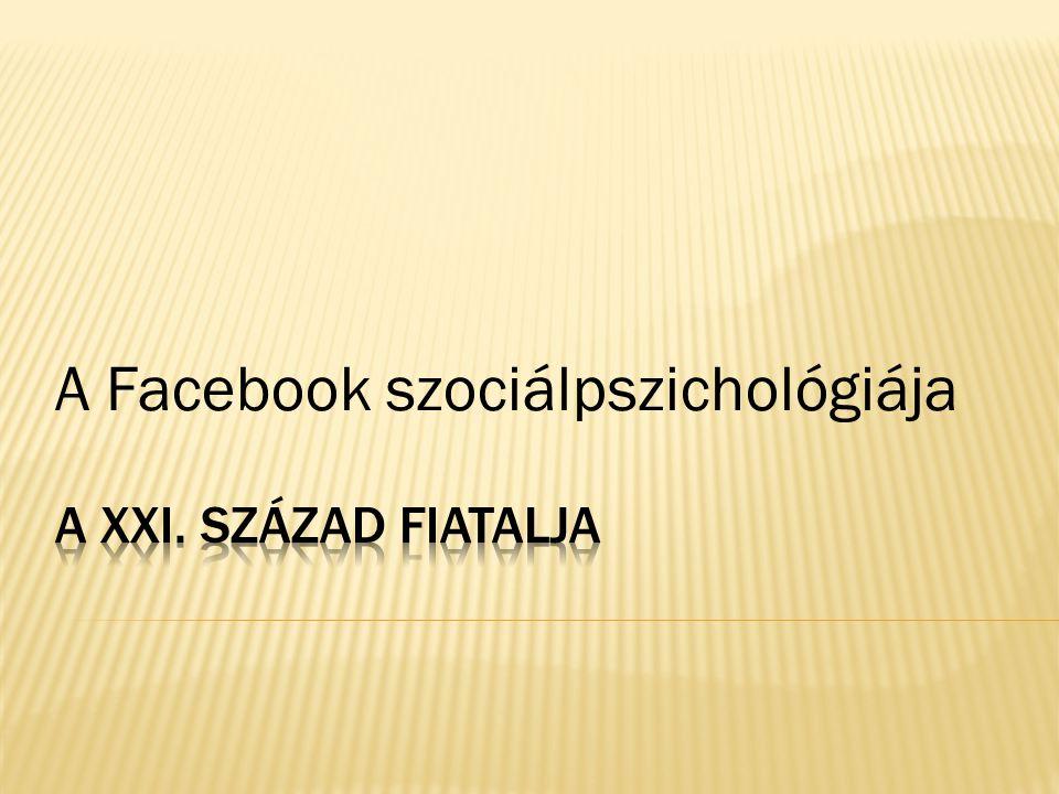 A Facebook szociálpszichológiája