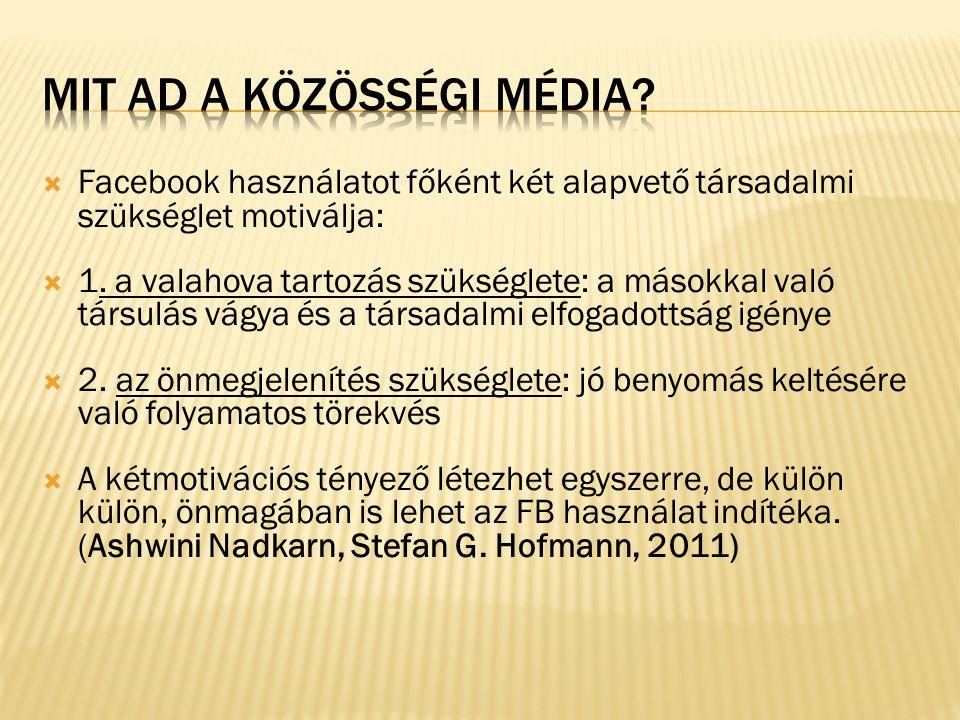 Mit ad a közösségi média
