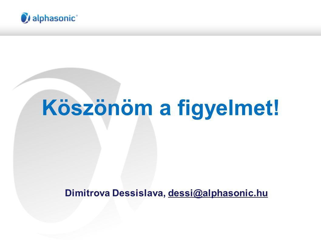 Dimitrova Dessislava, dessi@alphasonic.hu