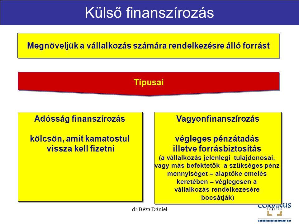 Kisvállalkozások finanszírozása