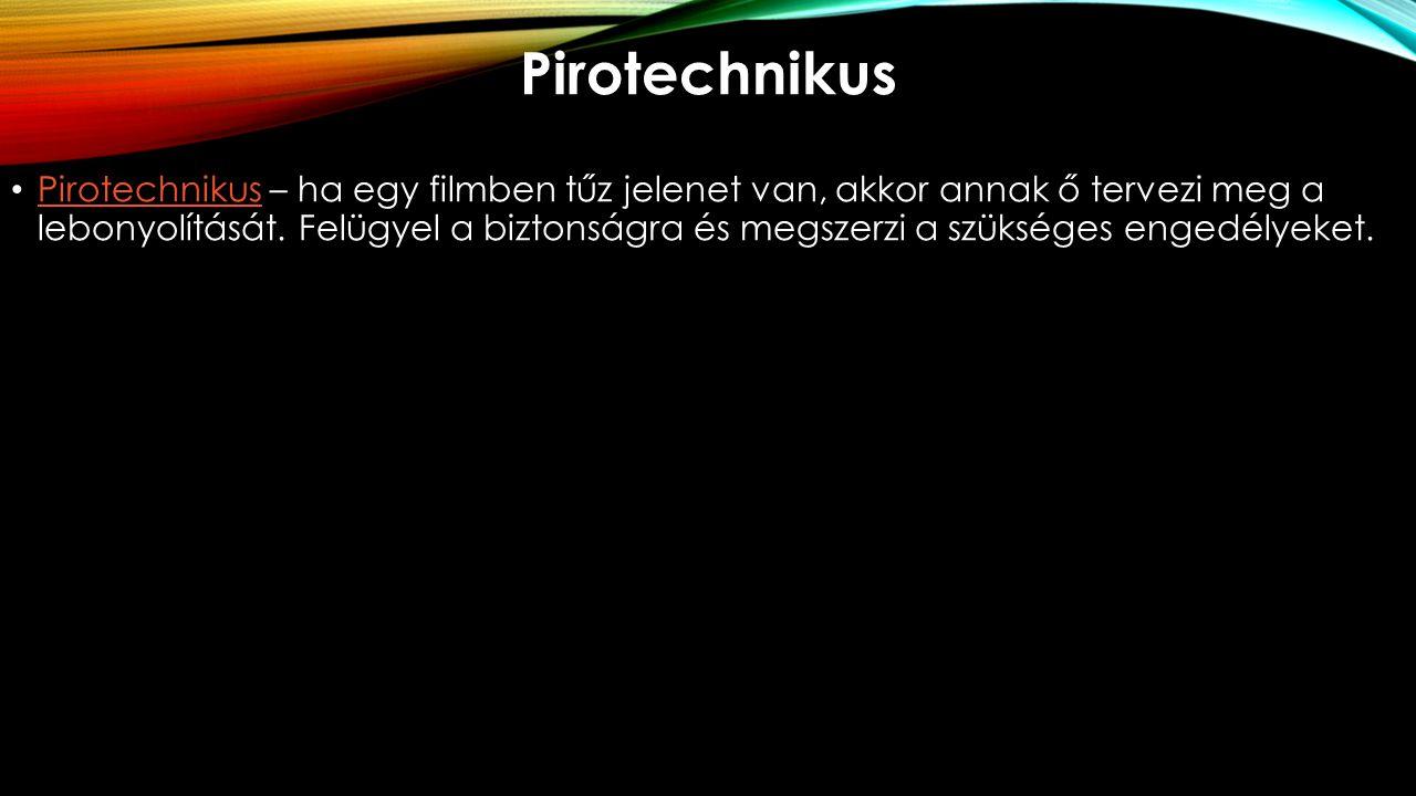 Pirotechnikus