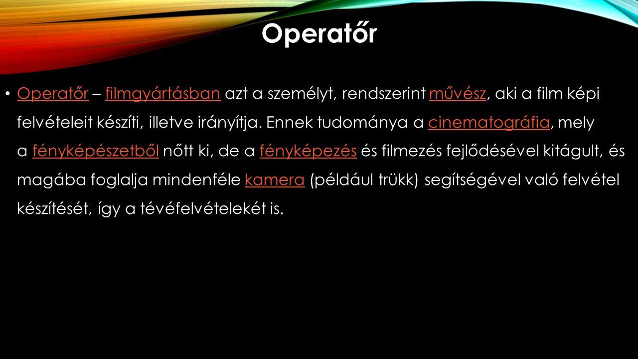 Operatőr