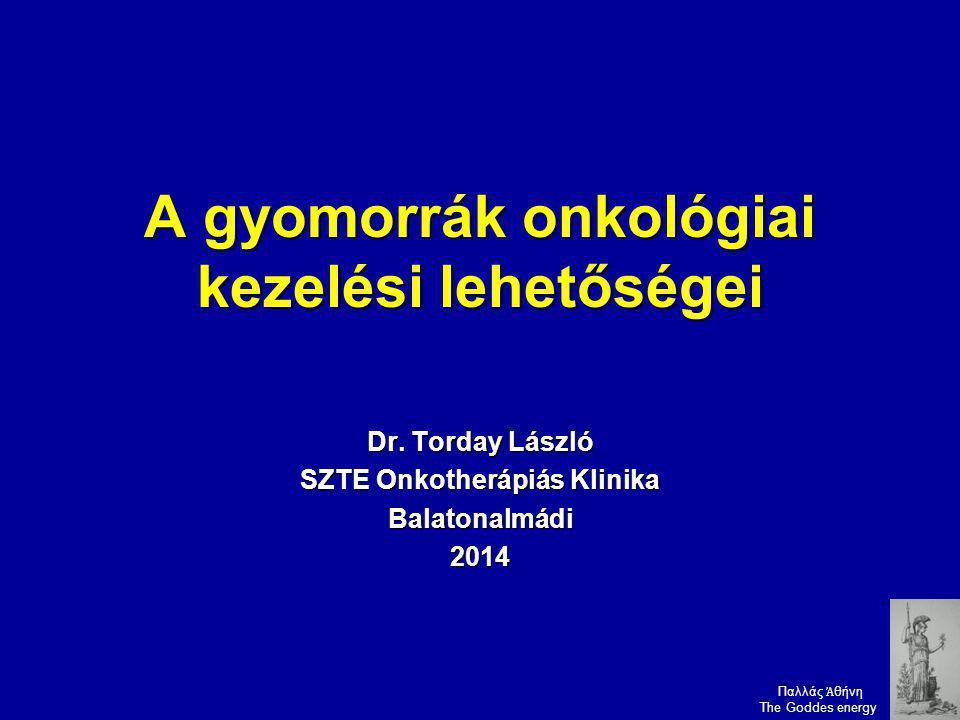 A gyomorrák onkológiai kezelési lehetőségei
