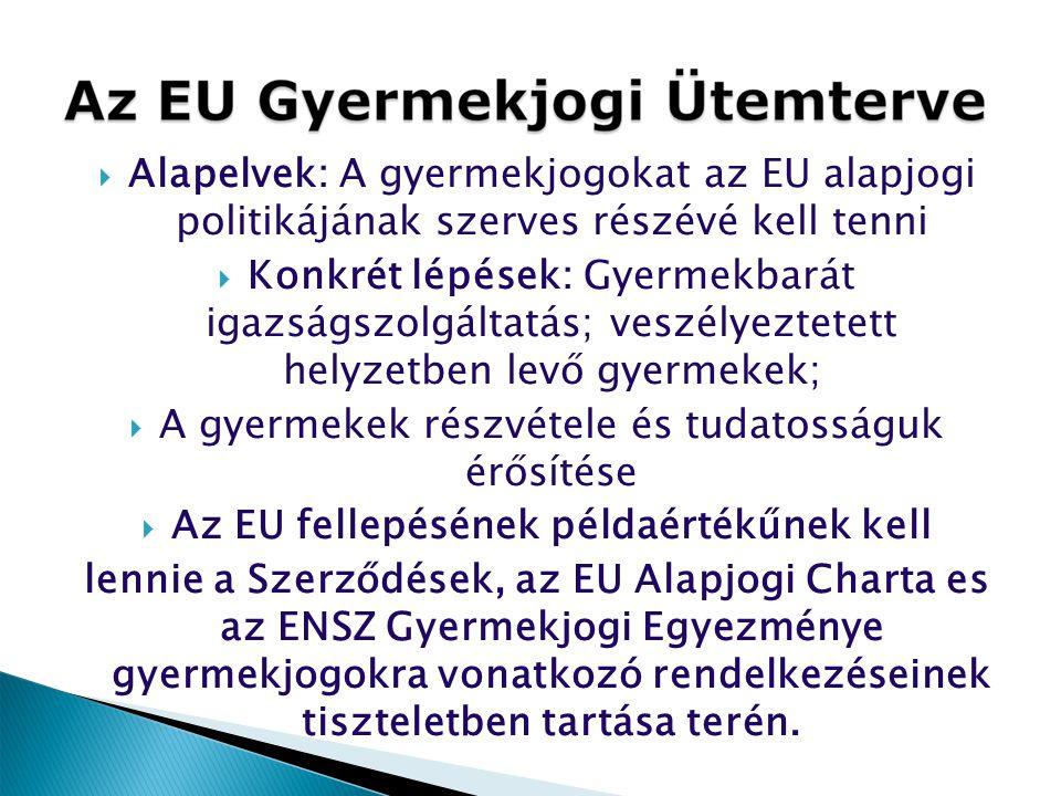Az EU fellepésének példaértékűnek kell