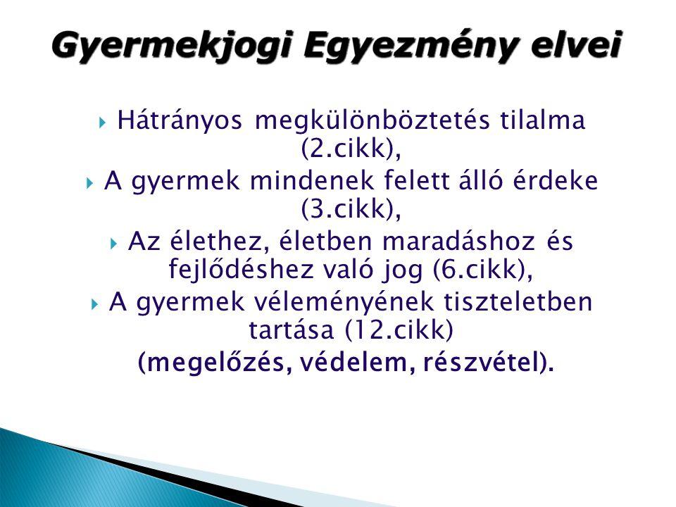 Hátrányos megkülönböztetés tilalma (2.cikk),