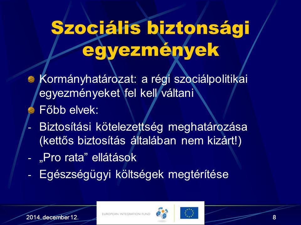 Szociális biztonsági egyezmények