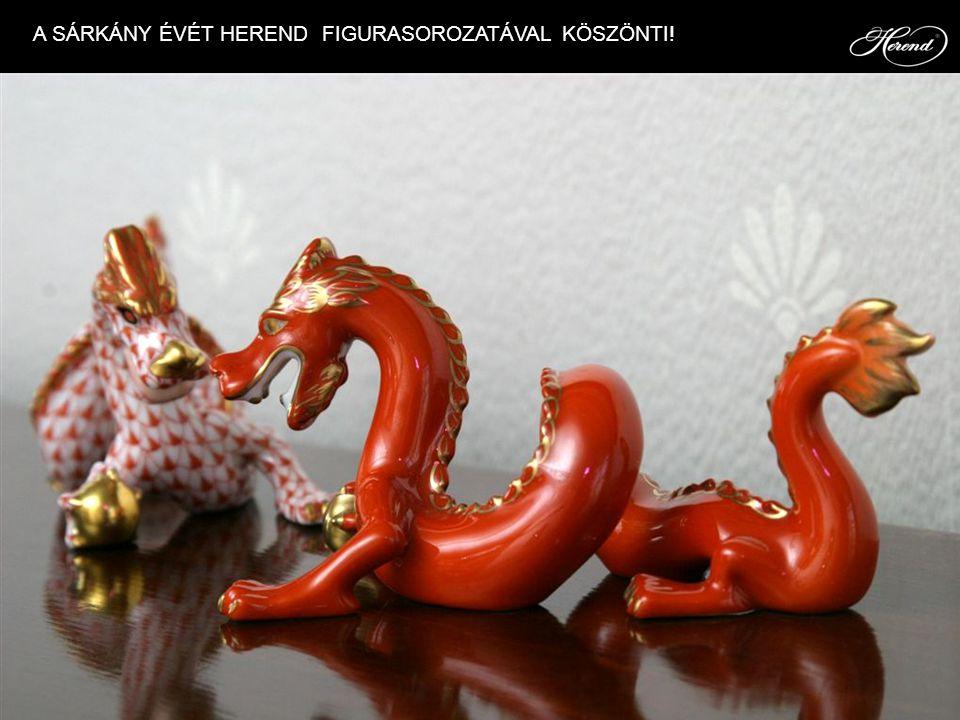 A SÁRKÁNY ÉVÉT HEREND FIGURASOROZATÁVAL KÖSZÖNTI!