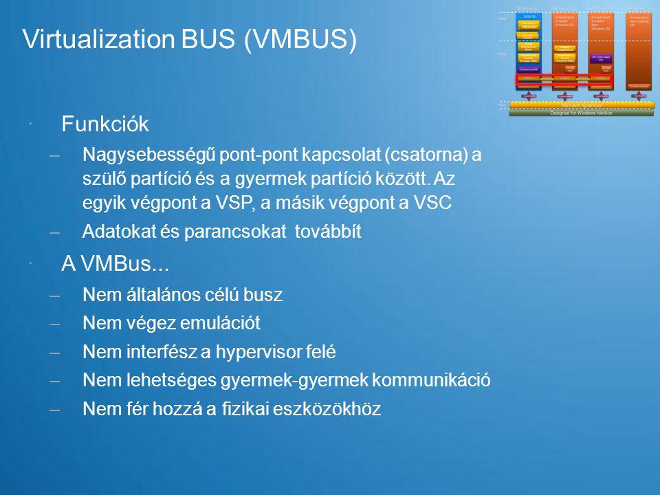 Virtualization BUS (VMBUS)