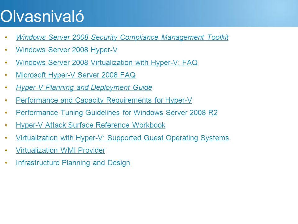 Olvasnivaló Windows Server 2008 Security Compliance Management Toolkit