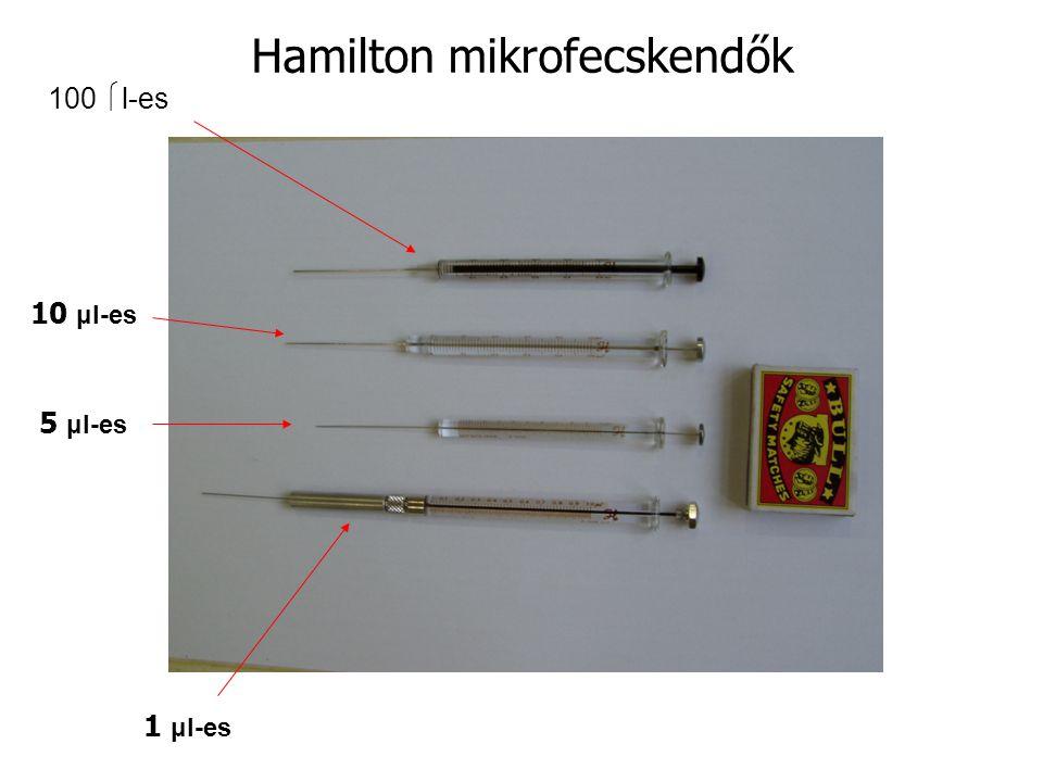 Hamilton mikrofecskendők