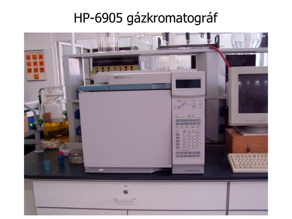 HP-6905 gázkromatográf