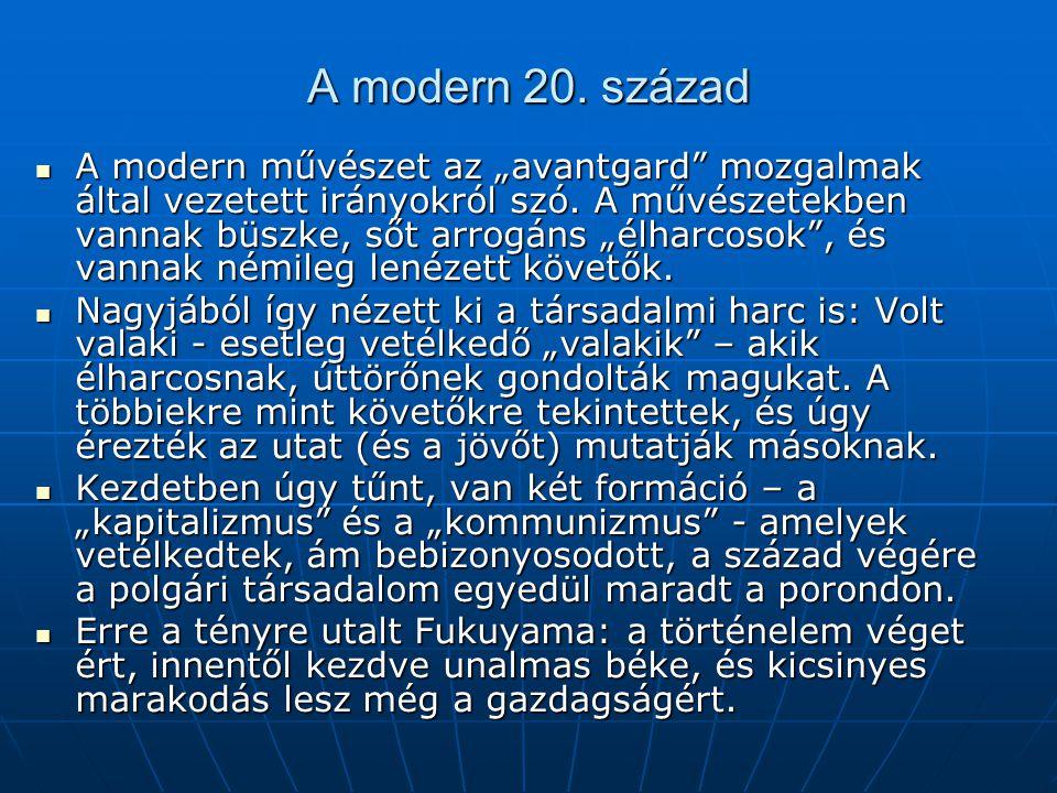 A modern 20. század