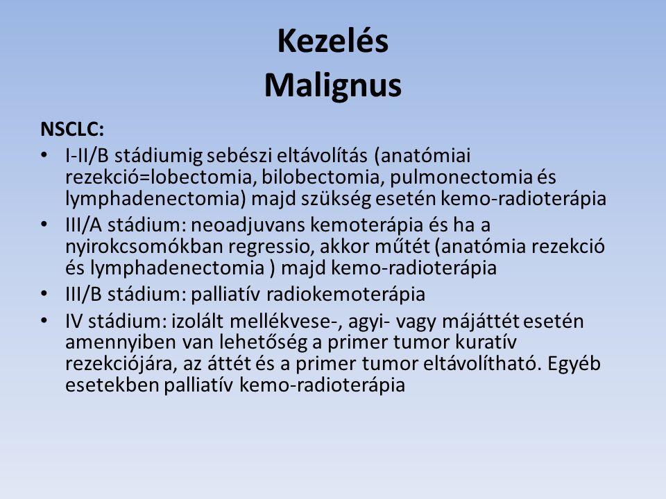 Kezelés Malignus NSCLC: