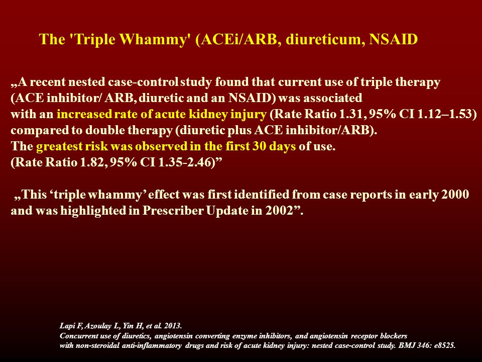 The Triple Whammy (ACEi/ARB, diureticum, NSAID