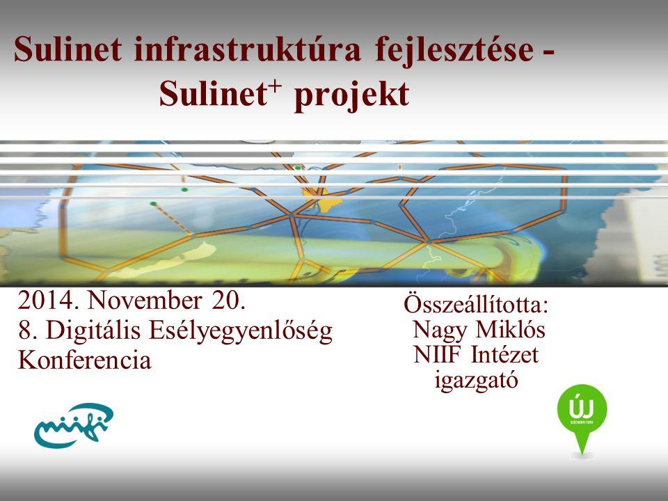 Sulinet infrastruktúra fejlesztése - Sulinet+ projekt