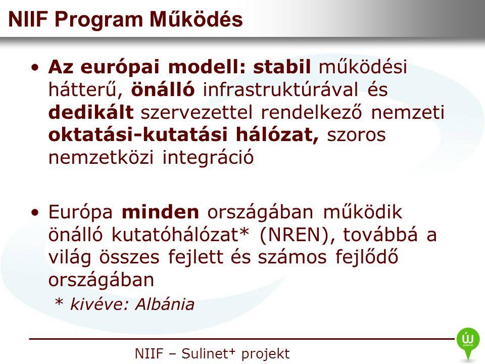 NIIF Program Működés