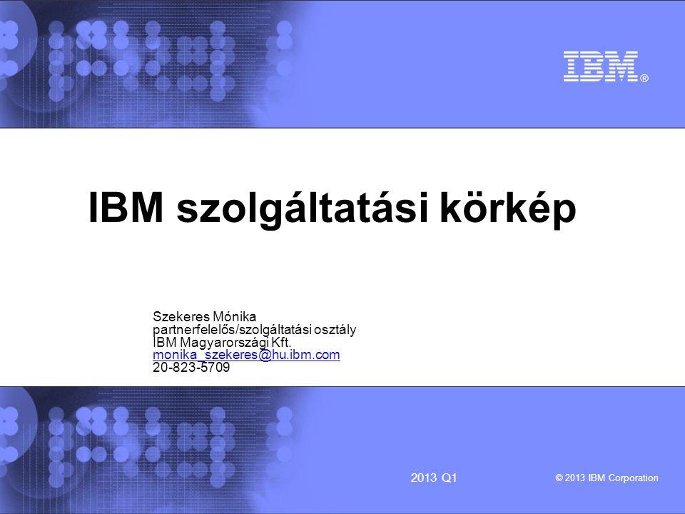 IBM szolgáltatási körkép