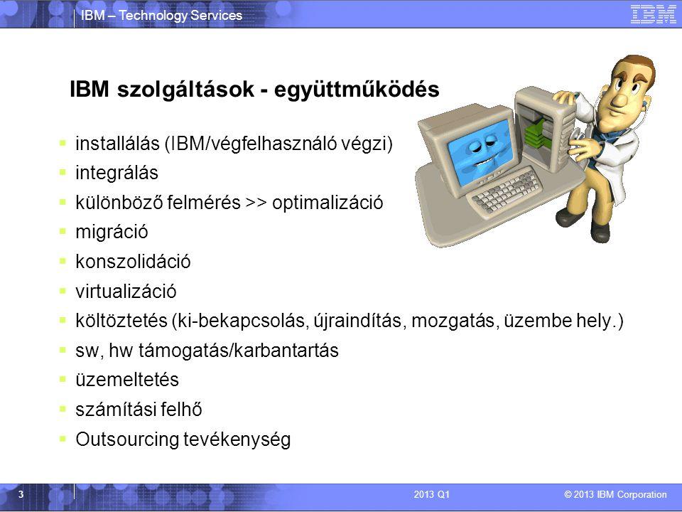 IBM szolgáltások - együttműködés