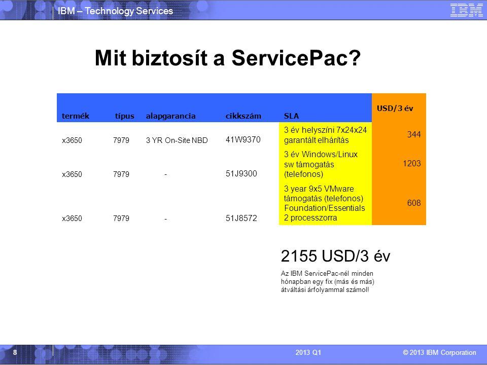 Mit biztosít a ServicePac