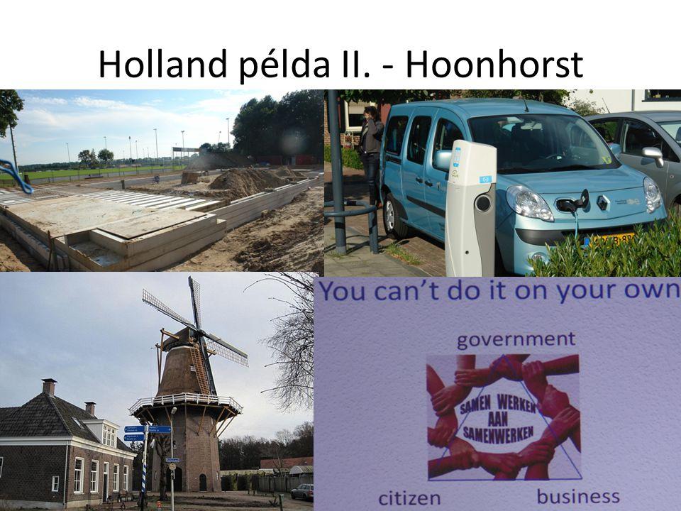 Holland példa II. - Hoonhorst