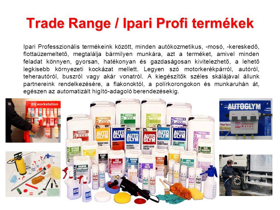 Trade Range / Ipari Profi termékek