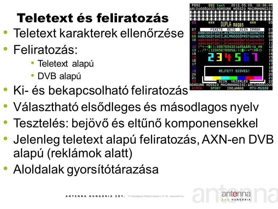 Teletext és feliratozás