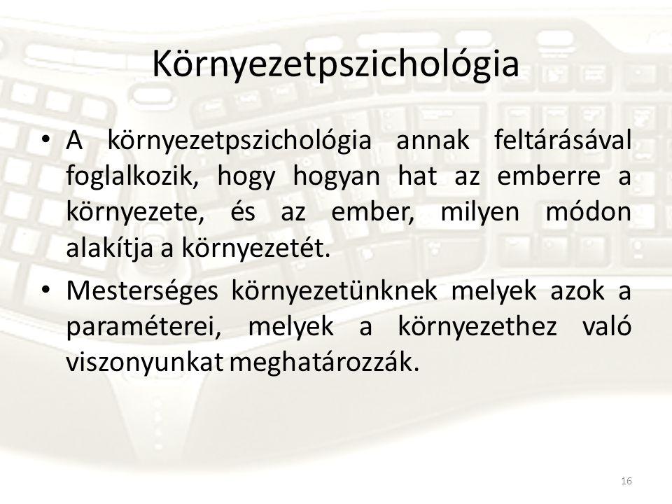 Környezetpszichológia