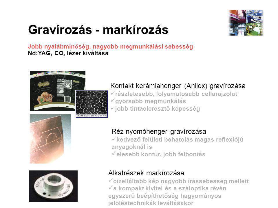 Gravírozás - markírozás