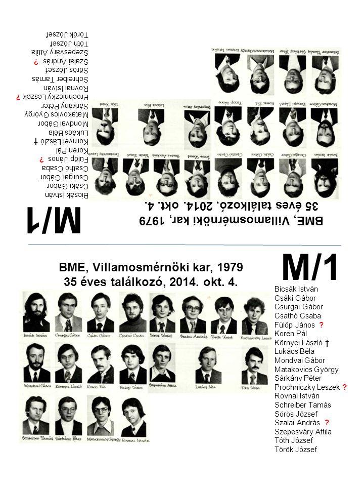 M/1 M/1 35 éves találkozó, 2014. okt. 4.