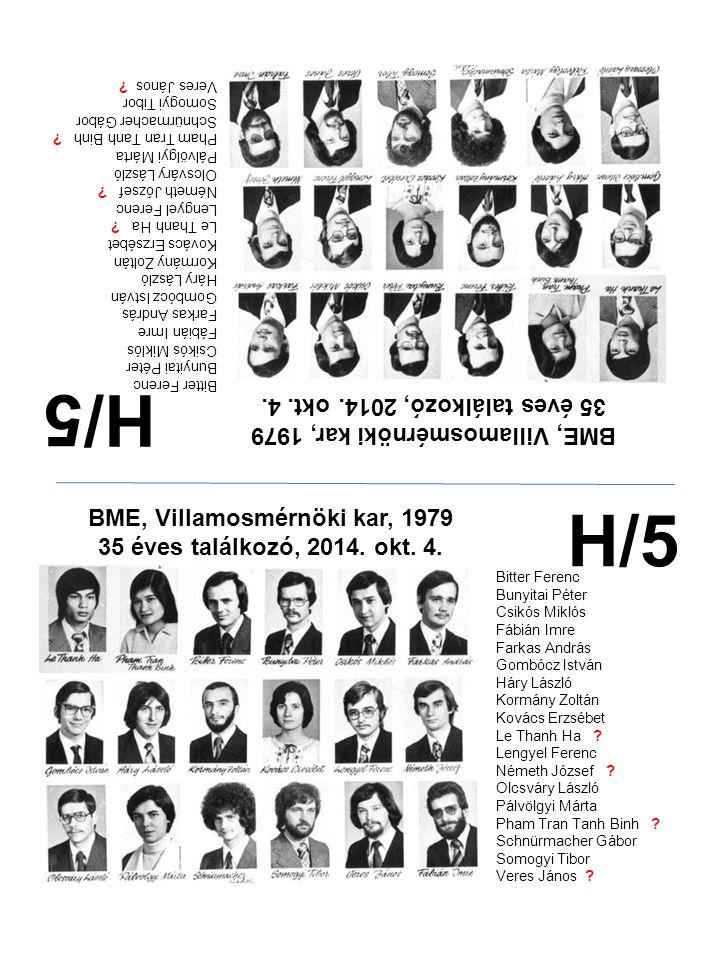 H/5 H/5 35 éves találkozó, 2014. okt. 4.