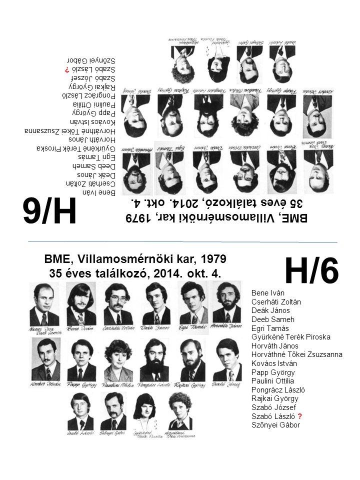 H/6 H/6 35 éves találkozó, 2014. okt. 4.