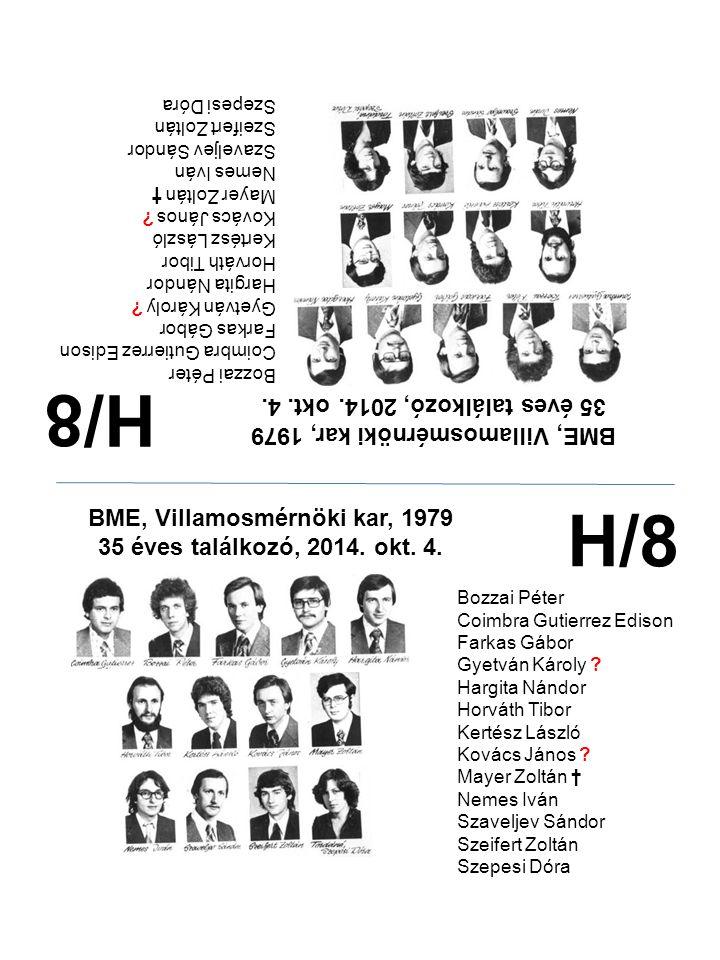 H/8 H/8 35 éves találkozó, 2014. okt. 4.