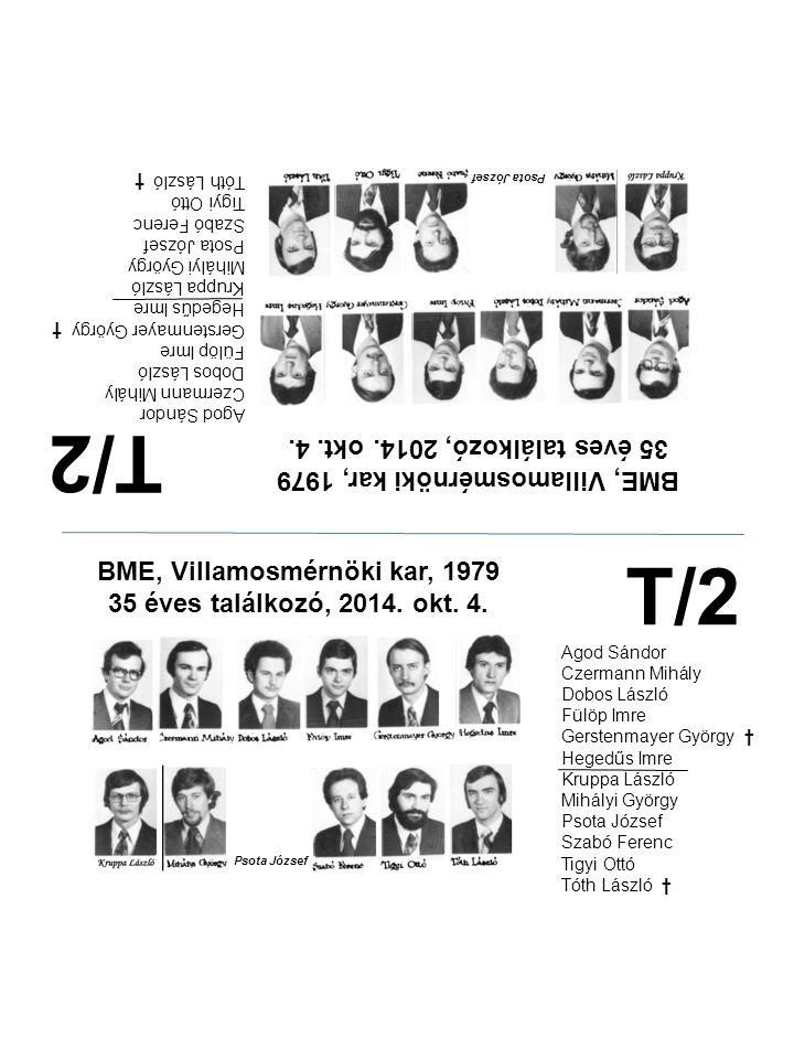 T/2 T/2 35 éves találkozó, 2014. okt. 4.