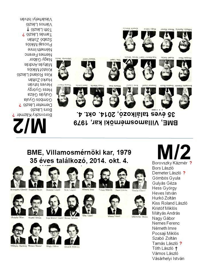 M/2 M/2 35 éves találkozó, 2014. okt. 4.