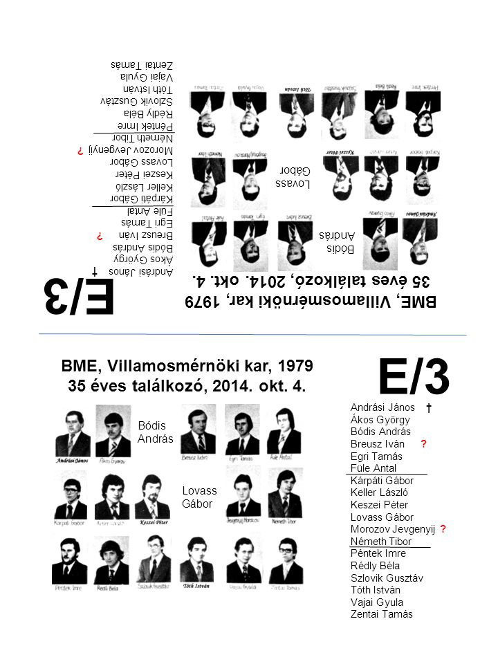 E/3 E/3 35 éves találkozó, 2014. okt. 4.