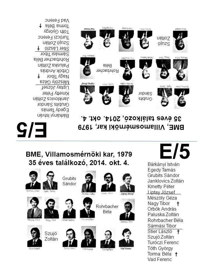 E/5 E/5 35 éves találkozó, 2014. okt. 4.