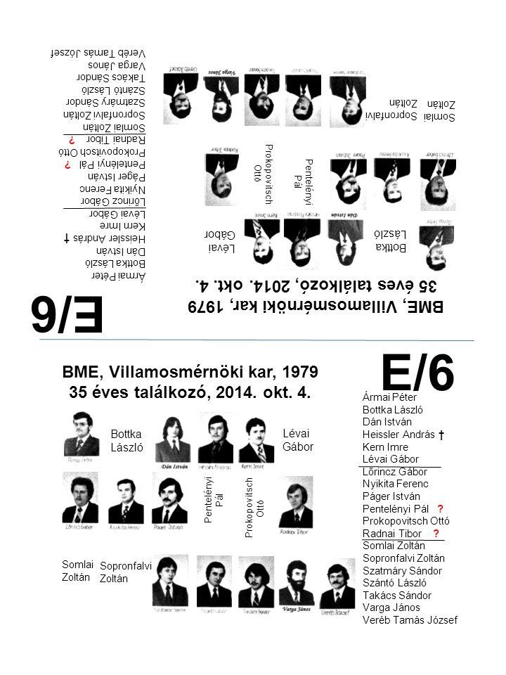 E/6 E/6 35 éves találkozó, 2014. okt. 4.
