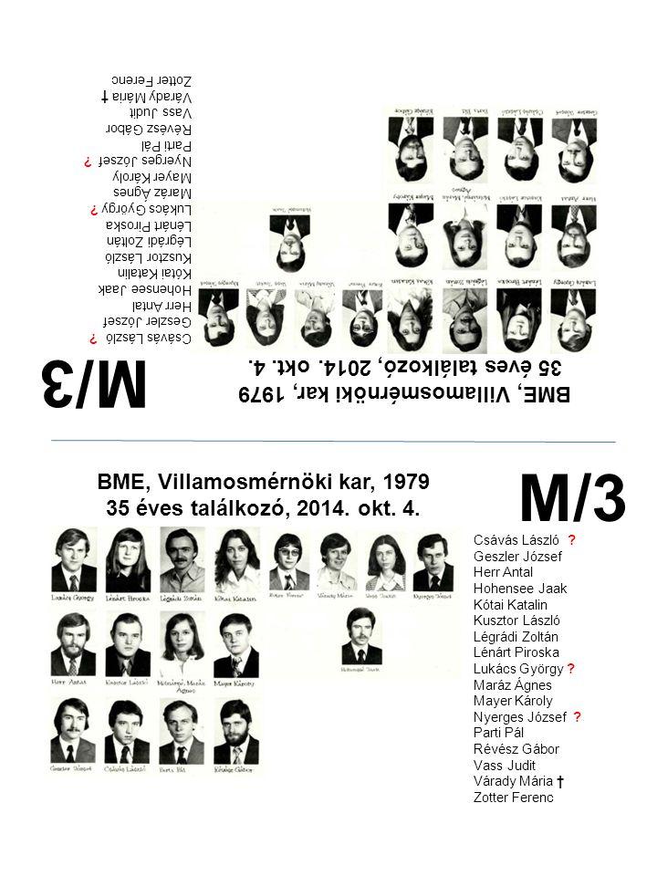 M/3 M/3 35 éves találkozó, 2014. okt. 4.