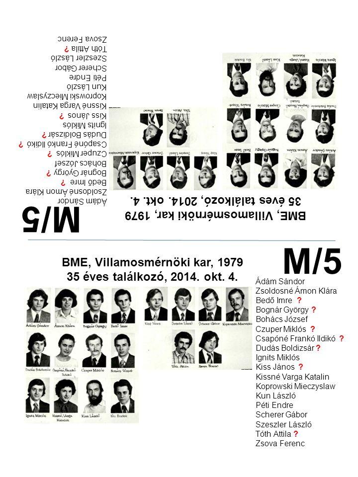 M/5 M/5 35 éves találkozó, 2014. okt. 4.