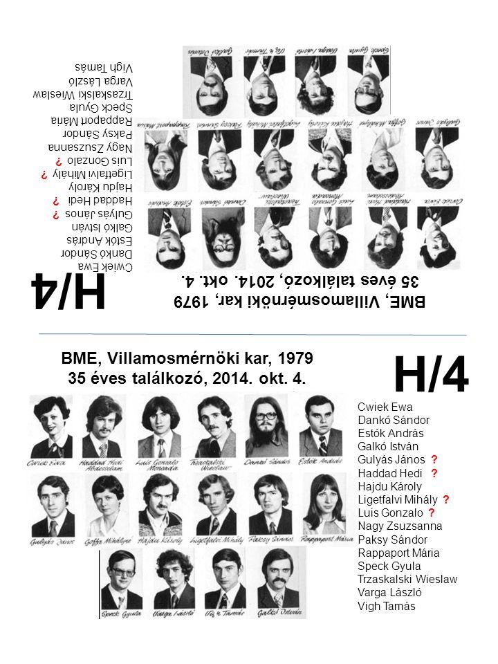 H/4 H/4 35 éves találkozó, 2014. okt. 4.