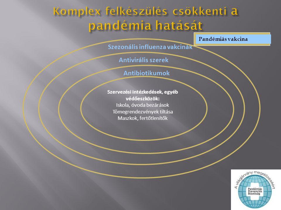 Komplex felkészülés csökkenti a pandémia hatását